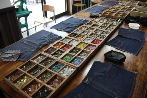 Jeans made at Betty Smith are 100% customizable for each individual.