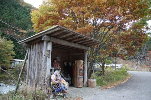 "Unusual ""inhabitants"" of Nagoro, the Scarecrow Village in Eastern Shikoku."