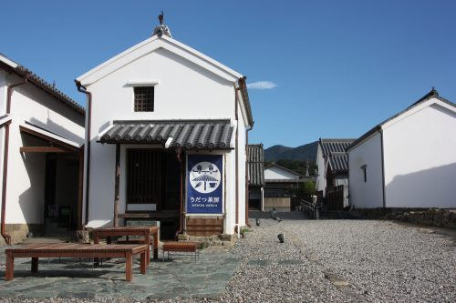 The Udatsu district of Mima town, birthplace of indigo-dyeing in Japan.