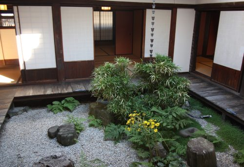 Former residence of Yoshida merchant family in Udatsu, Tokushima Prefecture.