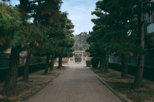 The kofun of Emperor Richu, Sakai, Osaka, Kinki, Japan