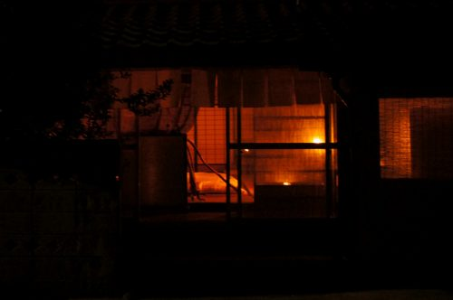 Fuben-ya, traditional house without electricity or running water in the San'in area, Japan