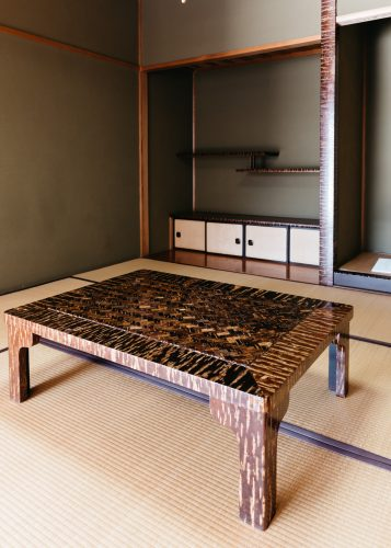 Kabazaiku crafted furniture in Kakunodate