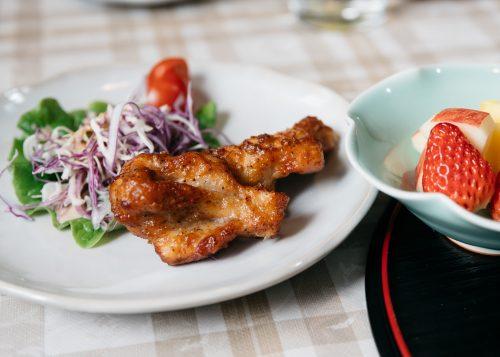 Lunch served at Iori ,Akita, Tohoku, Japan.