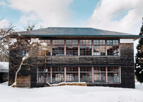 Omoide-no-kata Branch School in Semboku, Akita, Tohoku region, Japan.