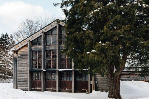 Omoide-no-kata Branch School in Tazawako, Akita, Tohoku region, Japan.