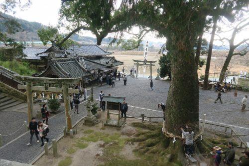 Kotonomama Hachimangu in Shizuoka