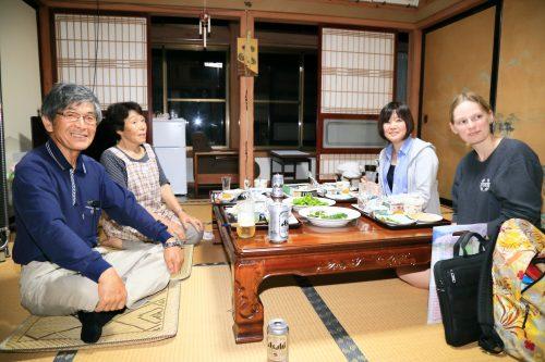 Stay in the home of Akita farmers in Semboku.
