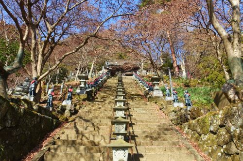 Oyama-dera Temple on Mt. Oyama, Kanagawa.