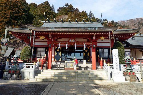 Oyama Afuri Shimosa Shrine, Kanagawa Prefecture.