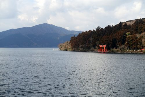 Hakone Sightseeing Cruise - a symbol of Hakone.