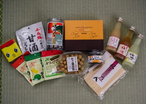Items purchased from various Tokyo antenna shops.