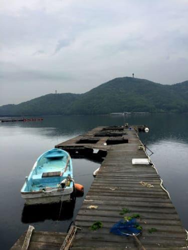 Shimizu Marine Inn pontoon