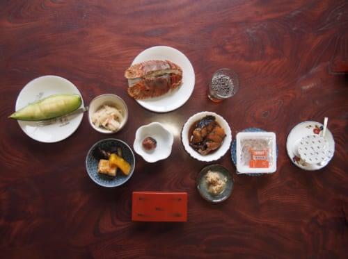 Breakfast at Shimizu Marine Inn in Saiki