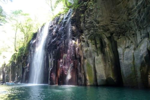 Minai waterfall on Takachiho Gorge