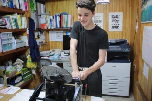 Printing experience at Ojikappan printing company
