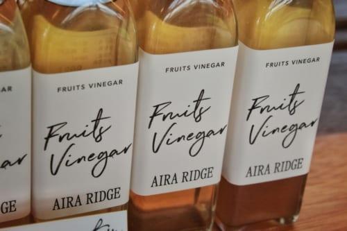 Souvenir Shop at Kikuka: Fruit Vinegar
