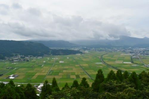 Panoramic view from Mt Aso in Kumamoto