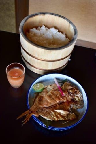 Breakfast at Konomama Ryokan in Kumamoto Prefecture