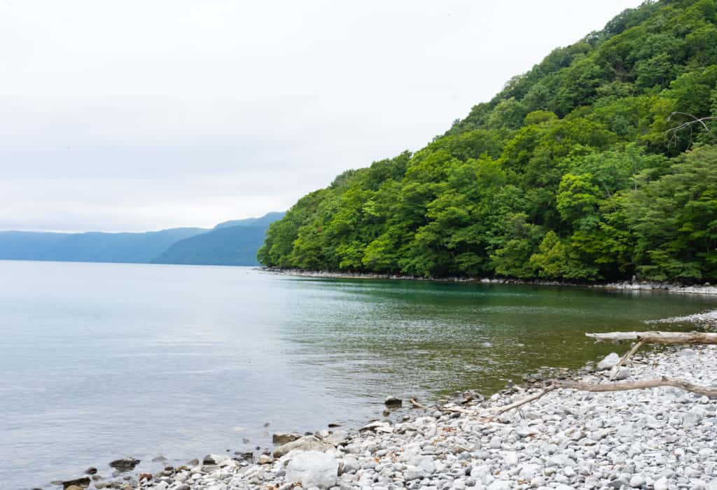 Lake Towada.