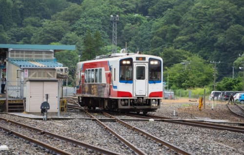The Sanriku Rias Line.