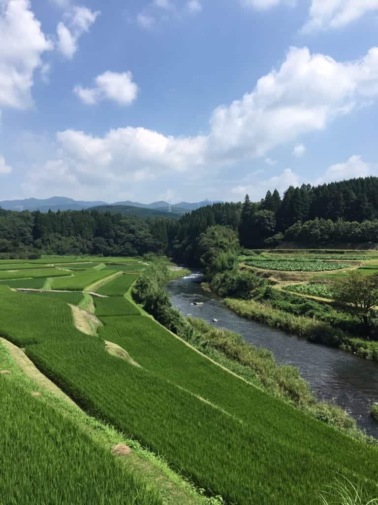 Kikuchi Town, northern Kumamoto Prefecture
