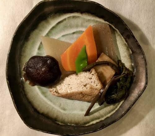 Dinner at Yamanosato Farmer Restaurant in Kumamoto, Kyushu