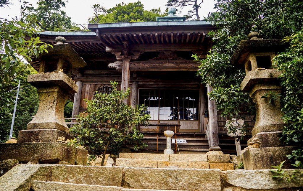 Dainichi Do, ein weiterer Pavillon, Miyajima, Hiroshima, Japan.