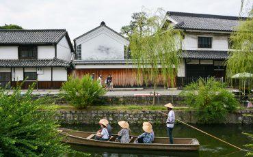 Das Bikan Viertel in Kurashiki ist sehr fotogen.