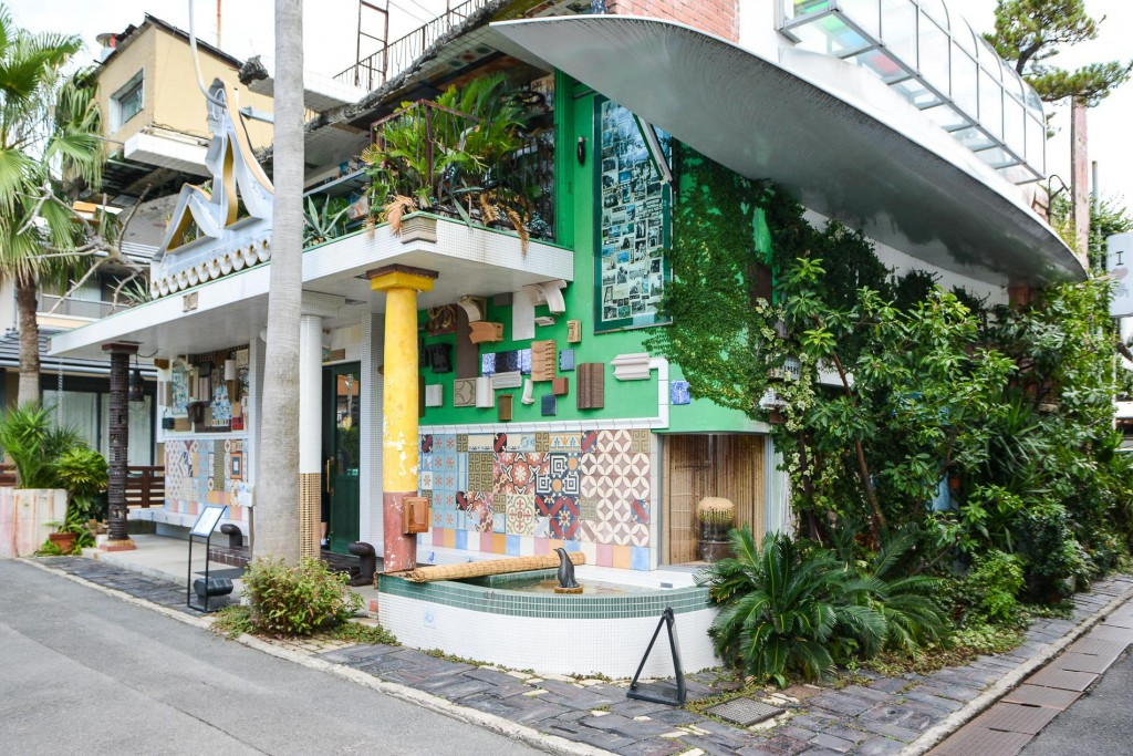 Badehaus, I love Yu, Naoshima, Kagawa, Japan