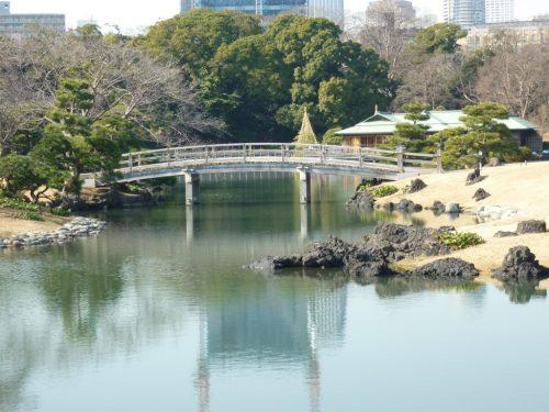Der Hamarikyu-Garten