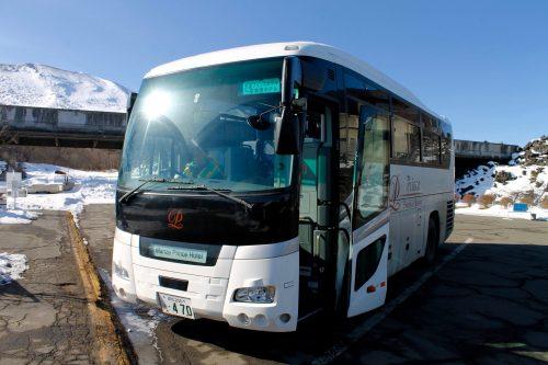 Shuttle Bus des Hotels