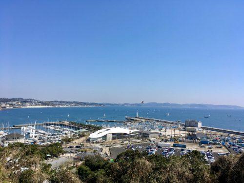 Hafen von Enoshima.