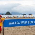Wie Sie die blaue Küste von Takahama's Blue Flag Strand genießen können