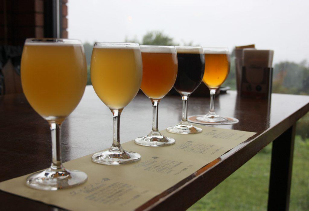 Bierhof Gambarius: lokales Craft Beer am Fuße des Berges Daisen