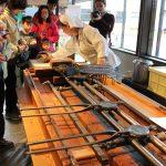 Traditionelles Handwerk in Morioka Handi-Works Square