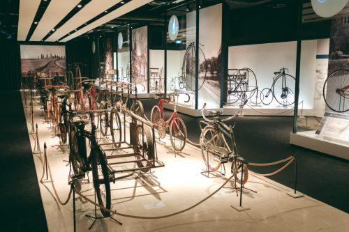 Shimano und Fahrradmuseum in Sakai, Osaka, Region Kinki, Japan.