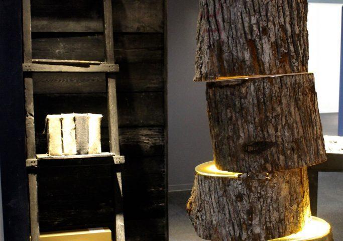 Asahikawa Design Center, Möbel aus regionalen Ressourcen, Hokkaido, Japan.