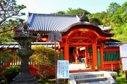 Bishamondo temple near Yamashina, Kyoto.