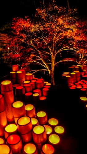 Das Laternenfest von Ogi in den Farben des Herbsts!