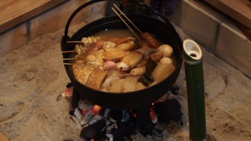 Oden, ein traditionell japanischer Eintopf.