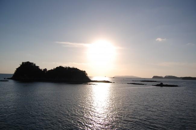 Islas del mar de Kujukushima, en Nagasaki (Japón)