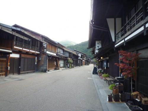 Calles de Narai-juku, en Japón
