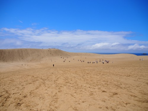 Dunas de arena de Tottori.