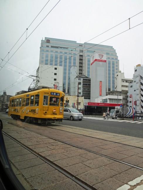 Tranvía de Nagasaki, Japón.