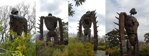 Estatua robot en el Museo Ghibli de Tokio (Japón)