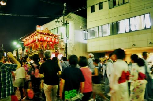 Procesión en el festival de Tanabe (Wakayama).