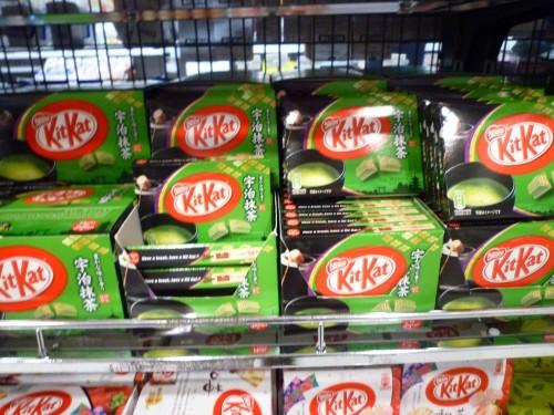Kit Kat de té vede en Japón.