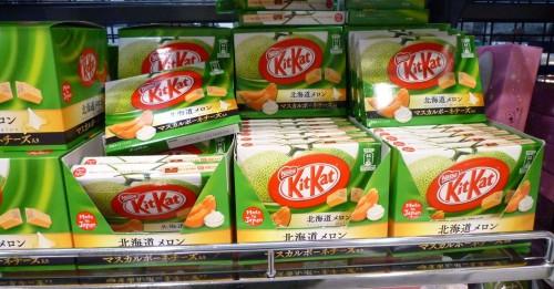 Kit Kat de melón japonés.