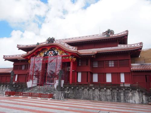 Castillo Shuri de Okinawa, vestigio del antiguo reino Ryukyu